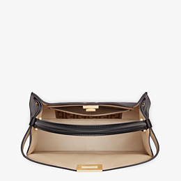 FENDI PEEKABOO X-LITE LARGE - Black leather bag - view 6 thumbnail