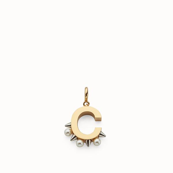 7a09584cbd Ciondoli con Perle o Pelliccia da Donna | Fendi
