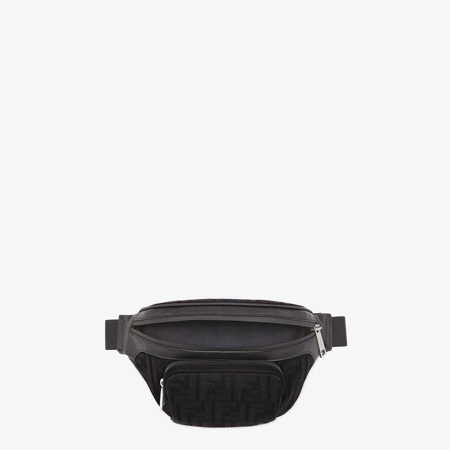 FENDI BELT BAG - Black fabric belt bag - view 4 detail