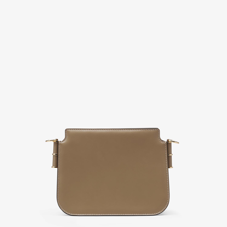 FENDI FENDI TOUCH - Gray leather bag - view 4 detail