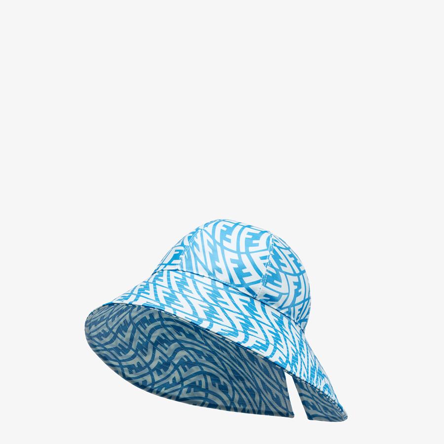 FENDI HAT - Light blue canvas hat - view 1 detail