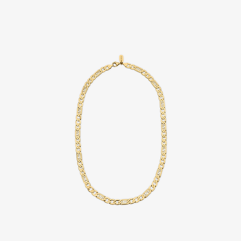 FENDI NECKLACE - Gold-colour necklace - view 1 detail