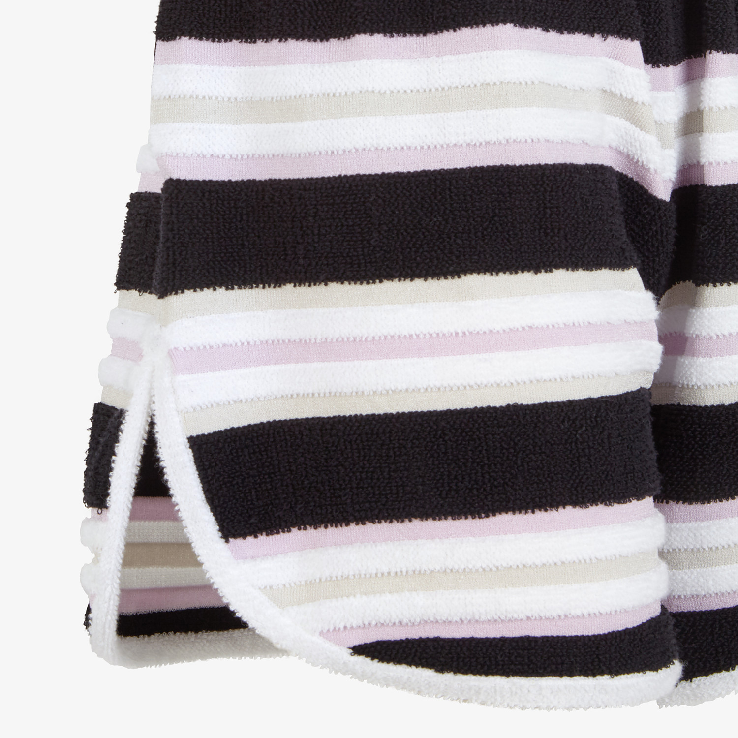 FENDI SHORTS - Multicolor cotton shorts - view 3 detail
