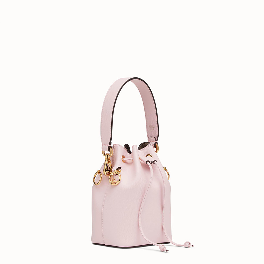 FENDI MON TRESOR - Mini-Tasche aus Leder in Rosa - view 2 detail