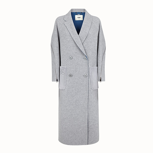 FENDI OVERCOAT - Wool coat - view 1 small thumbnail