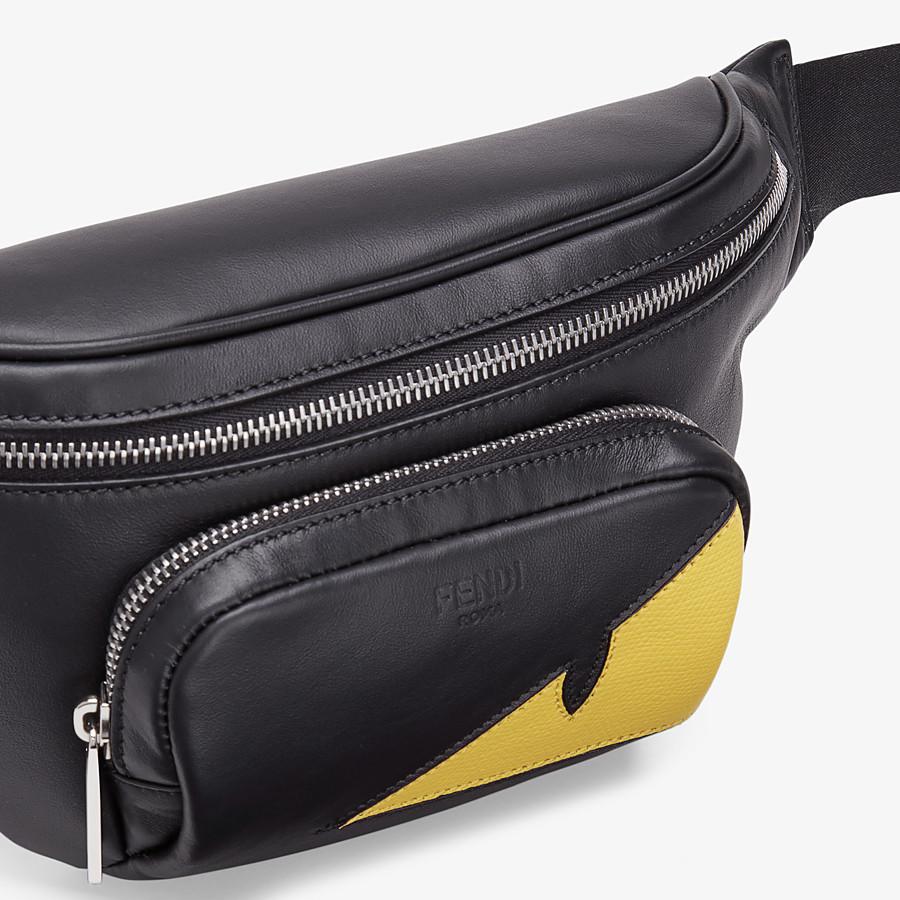 FENDI BELT BAG - Black calfskin belt bag - view 5 detail