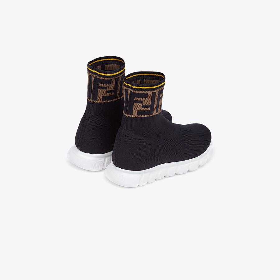 FENDI SNEAKERS - Mesh junior sneakers - view 3 detail