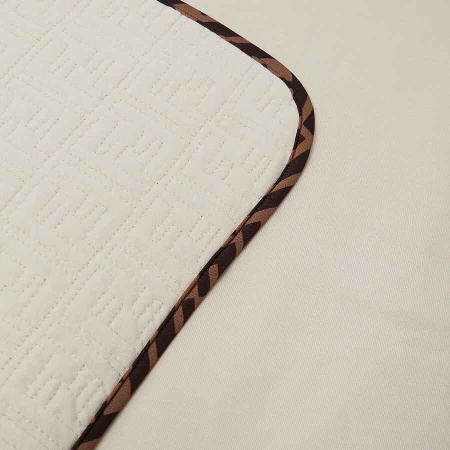 FENDI BABY BLANKET - Quilted cotton baby blanket - view 3 detail