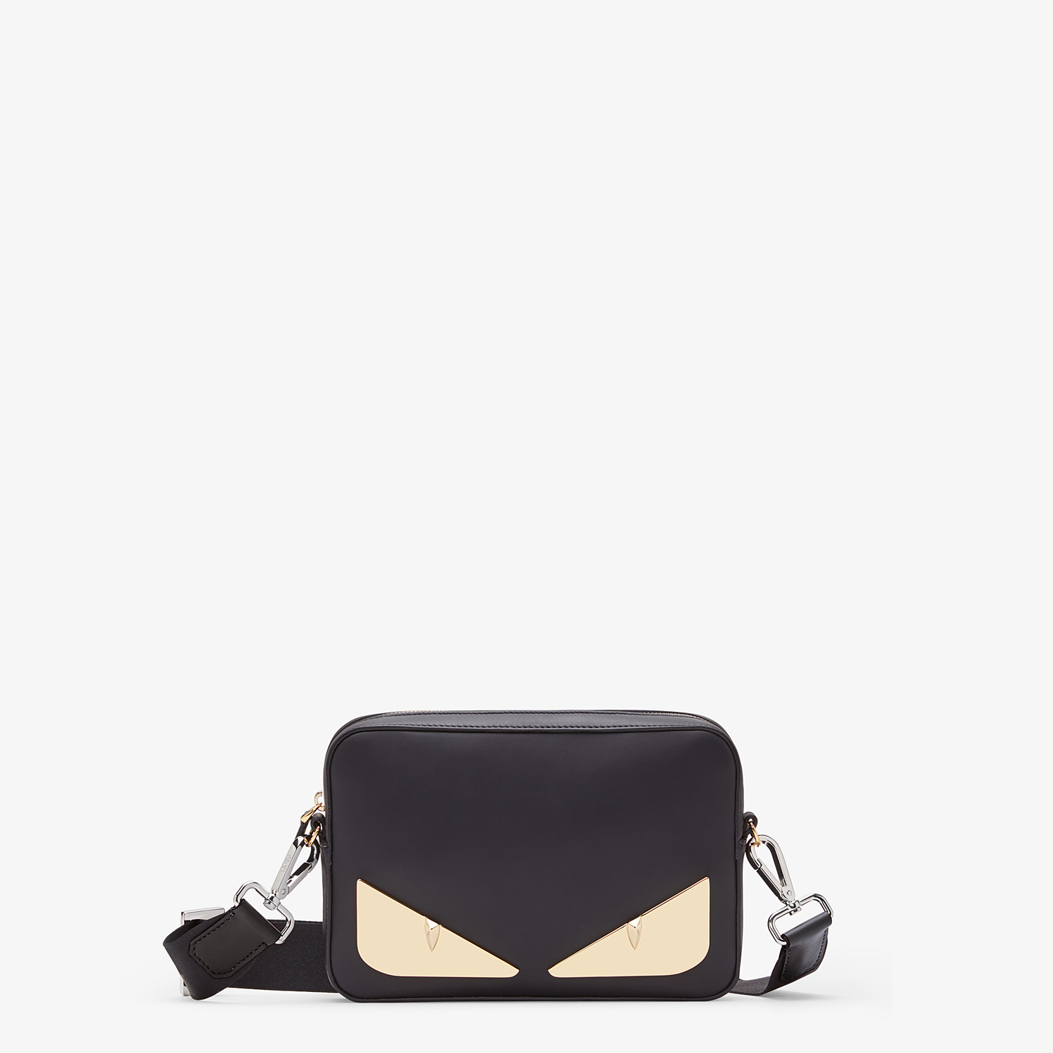 FENDI CAMERA CASE - Black, calf leather bag - view 1 detail