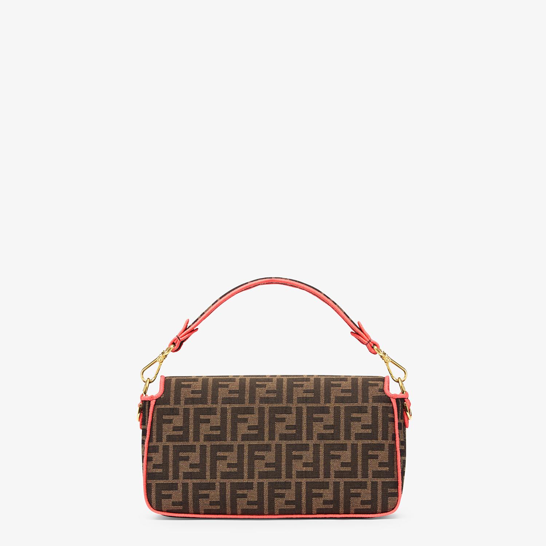 FENDI BAGUETTE - Fendi Roma Amor fabric bag - view 3 detail