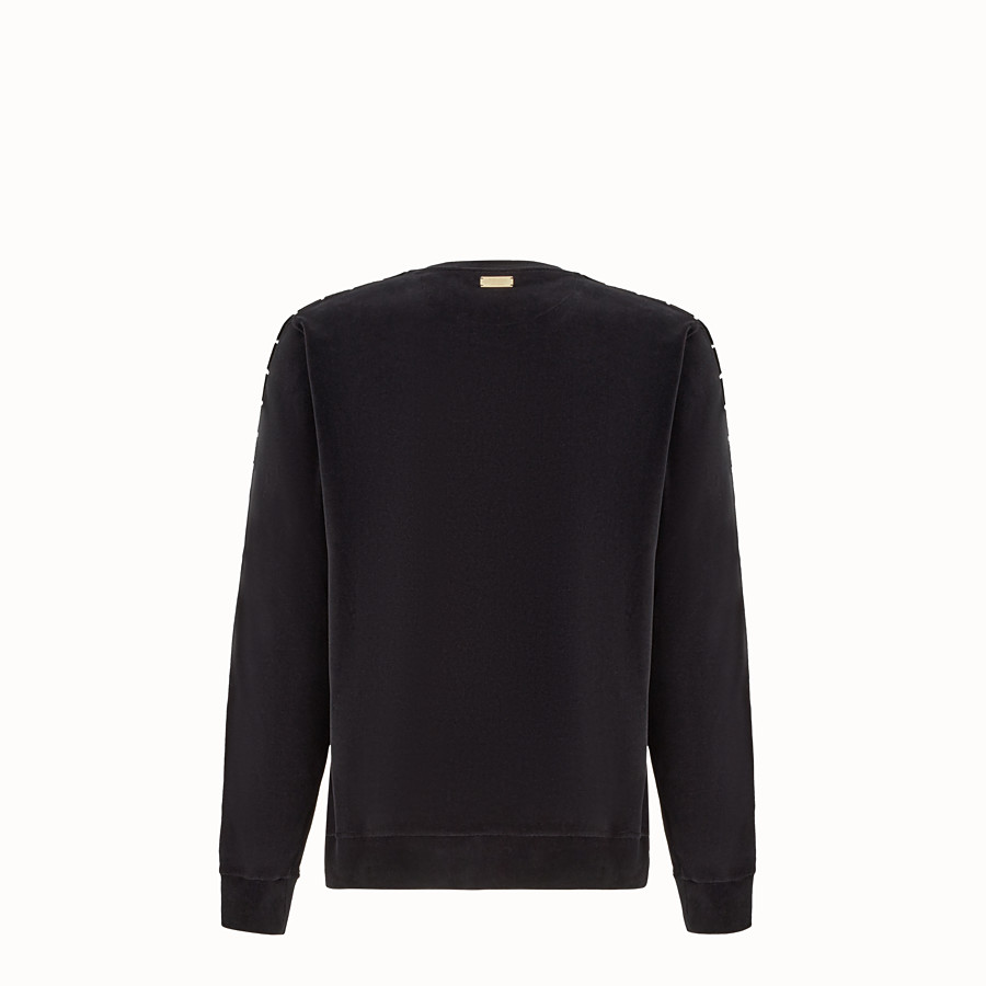 FENDI JUMPER - Fendi sweatshirt for Jackson Wang in chenille - view 2 detail