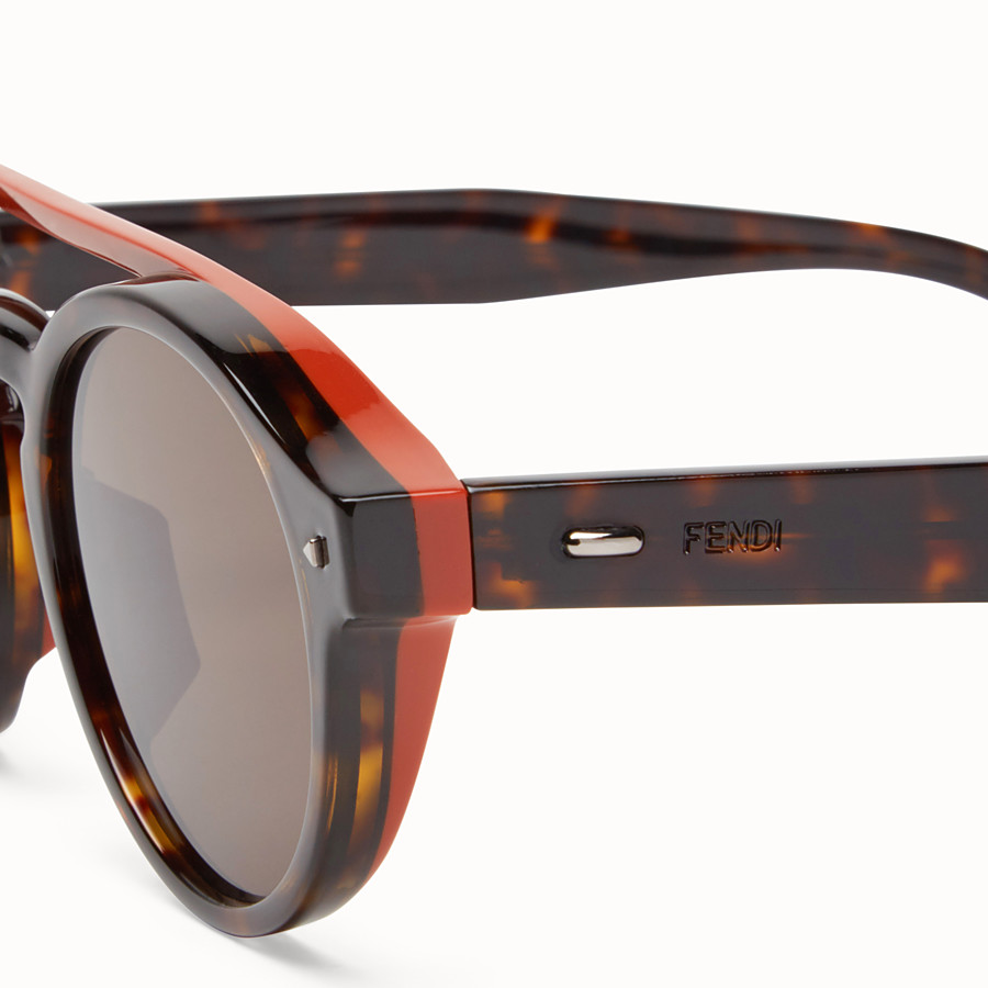 FENDI I SEE YOU - Havana Asian fit sunglasses - view 3 detail