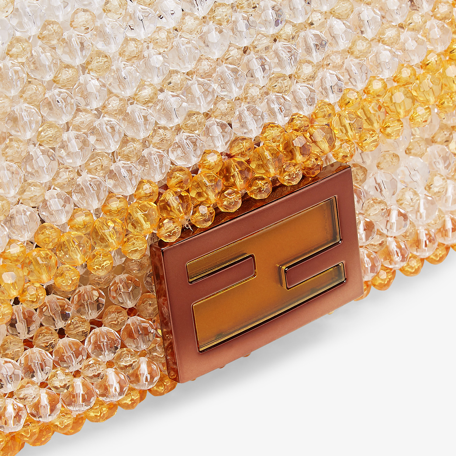 FENDI BAGUETTE - Bag with yellow beads - view 5 detail
