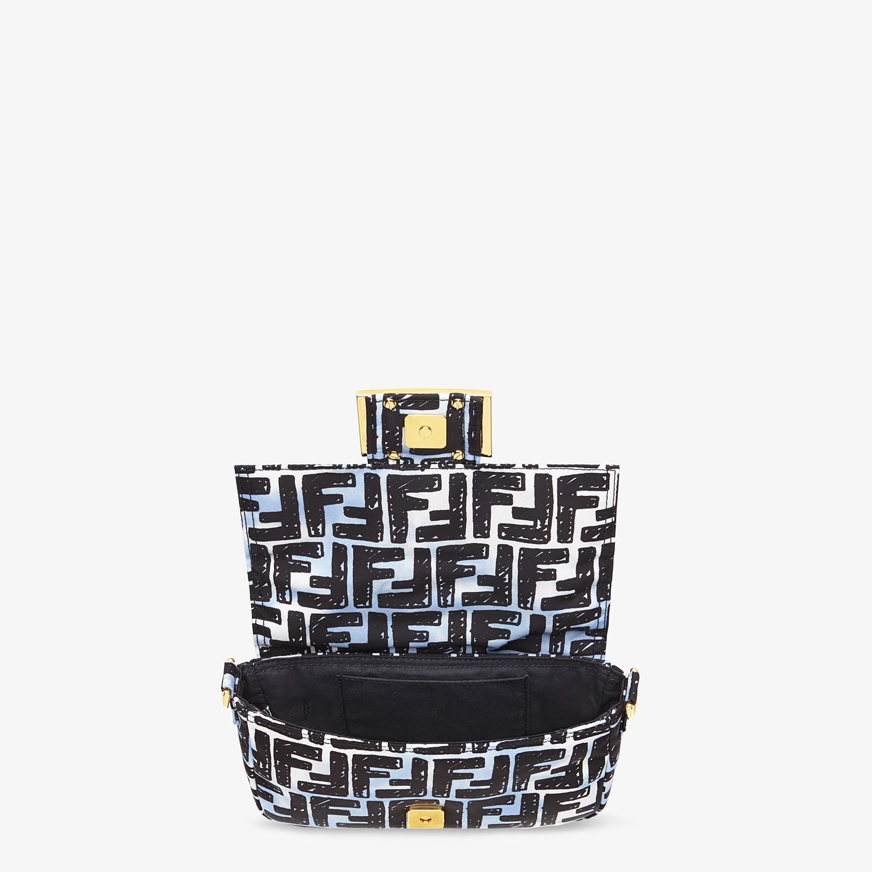 FENDI BELT BAGUETTE SMALL - Nylon FF print bag - view 6 detail