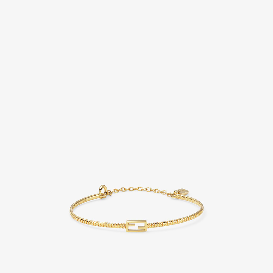 FENDI BAGUETTE BRACELET - Gold-color bracelet - view 1 detail