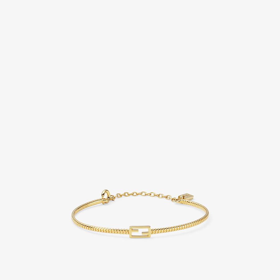 FENDI BAGUETTE BRACELET - Gold-color bracelet - view 1 detail