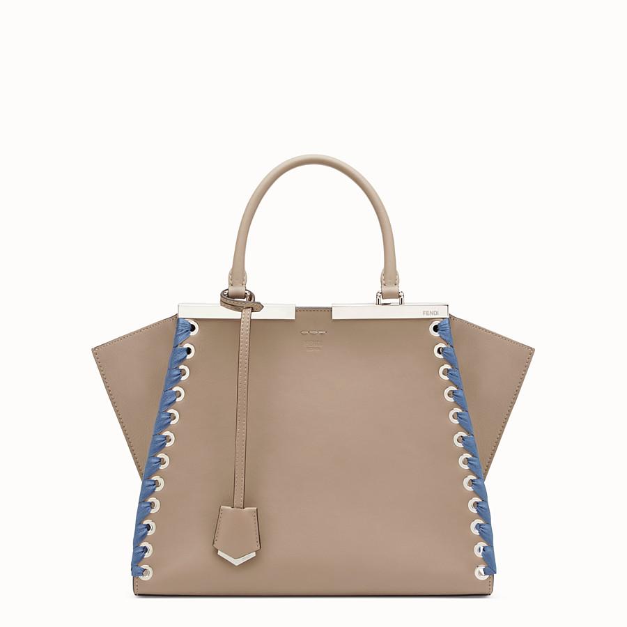 FENDI 3JOURS - Beige leather bag - view 1 detail