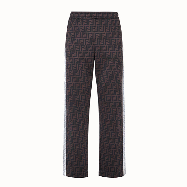 FENDI TROUSERS - Fendi Prints On trousers in jersey - view 1 small thumbnail
