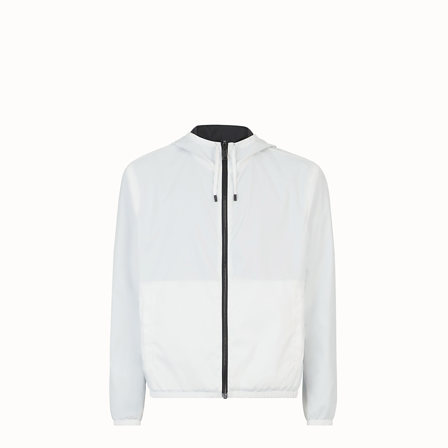 FENDI WINDBREAKER - Black nylon windbreaker - view 4 detail