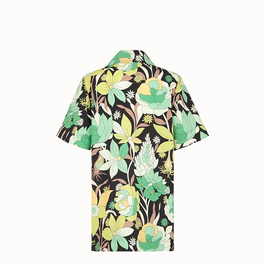 FENDI SHIRT - Multicolour cotton shirt - view 2 detail