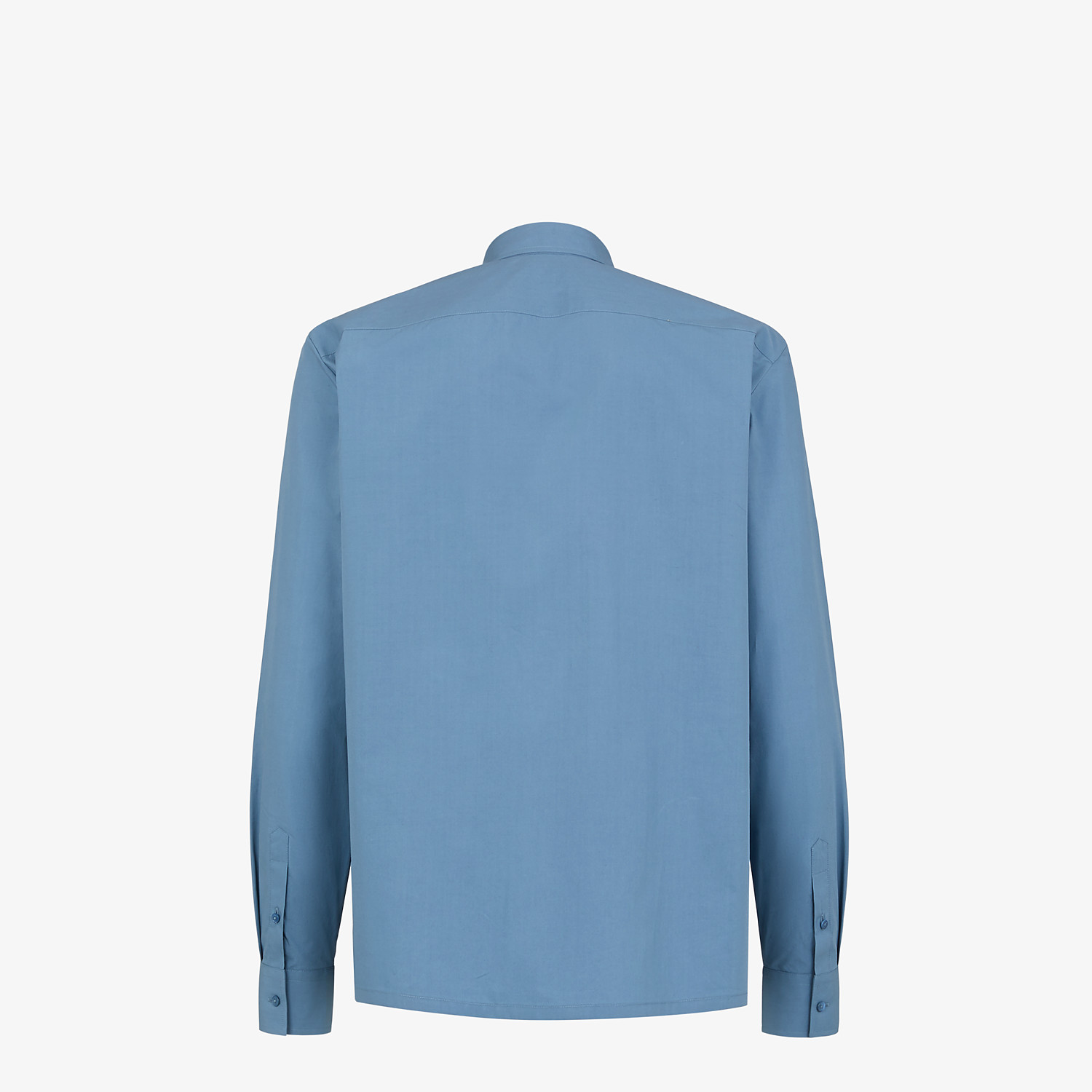 FENDI SHIRT - Light blue cotton shirt - view 2 detail