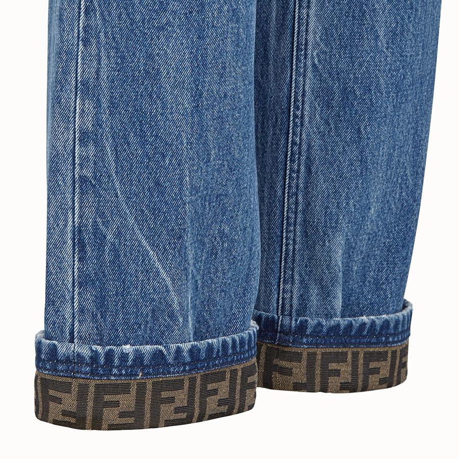 FENDI DENIM - Jeans in denim blu scuro - vista 3 dettaglio