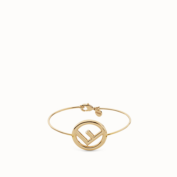 FENDI F IS FENDI BRACELET - Gold color bracelet - view 1 small thumbnail