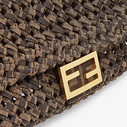 FENDI BAGUETTE - Tasche aus Stoff in Interlace Jacquard - view 6 thumbnail