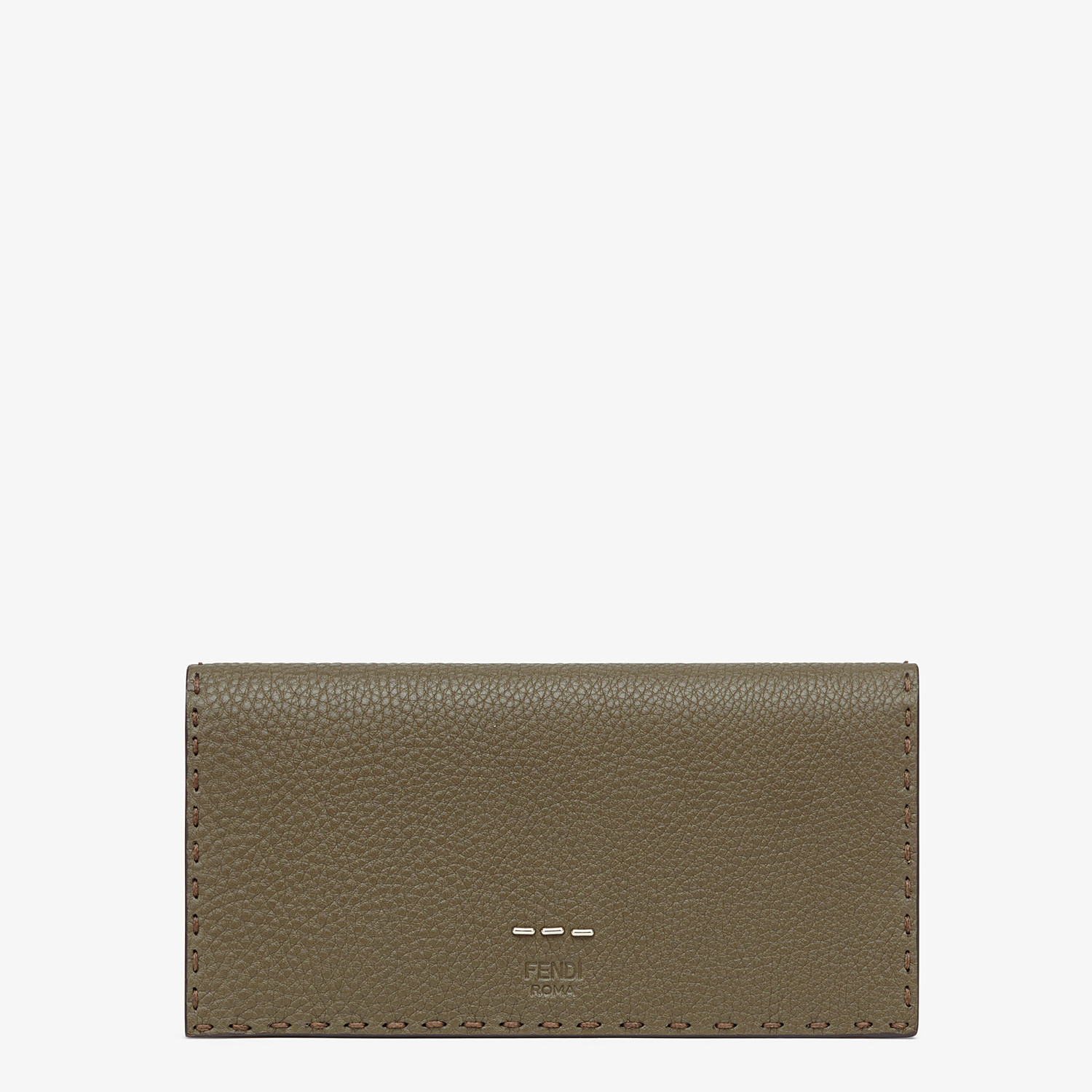 FENDI CONTINENTAL - Green leather wallet - view 1 detail