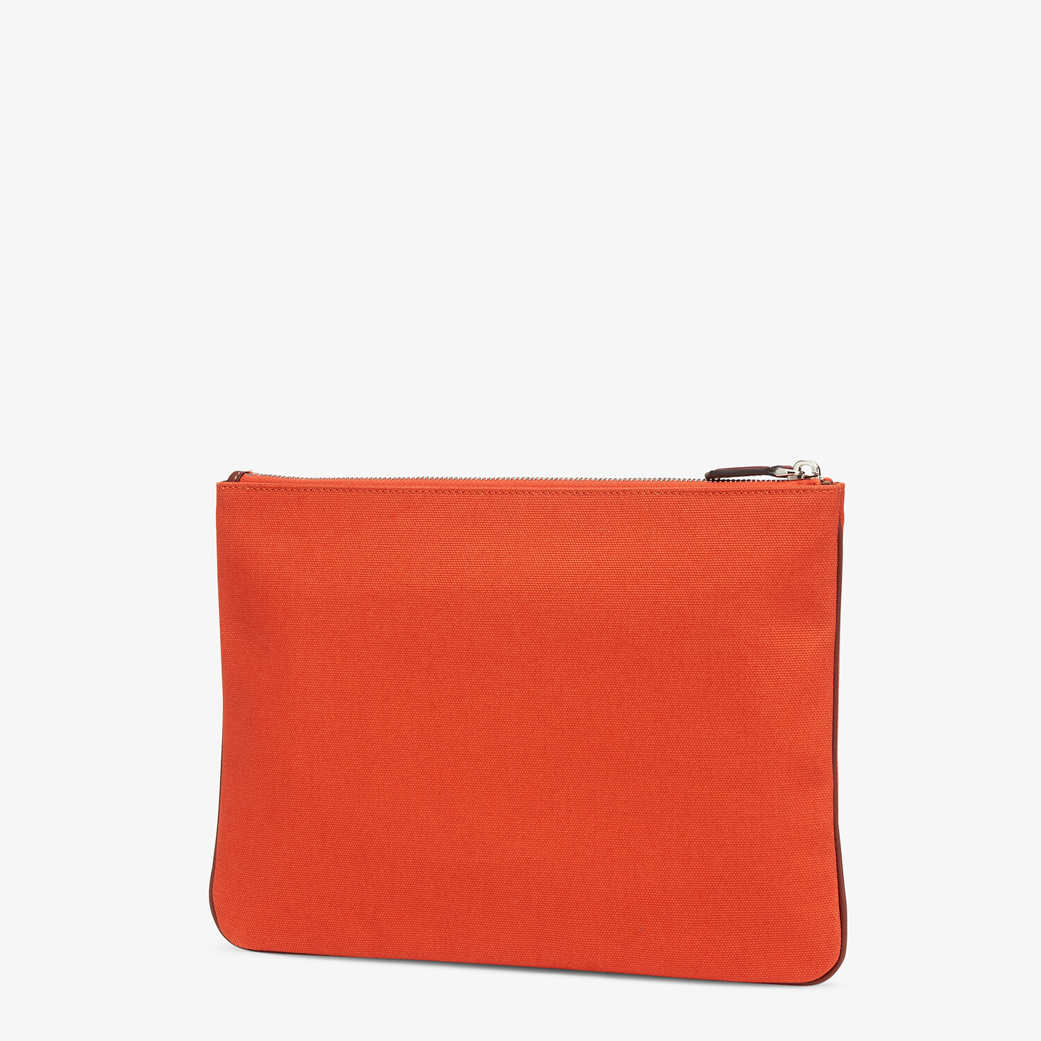 FENDI POUCH - Red canvas pouch - view 2 detail