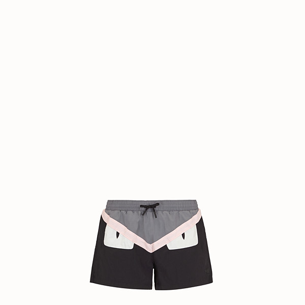 FENDI SHORTS - Multicolor technical fabric shorts - view 1 small thumbnail