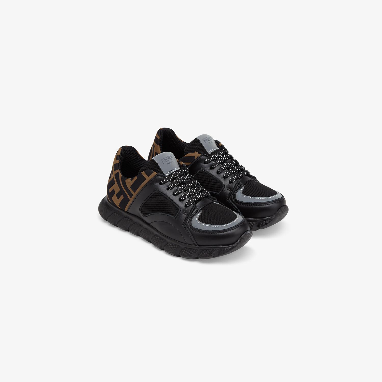 FENDI SNEAKERS - Nappa leather unisex junior sneakers - view 2 detail