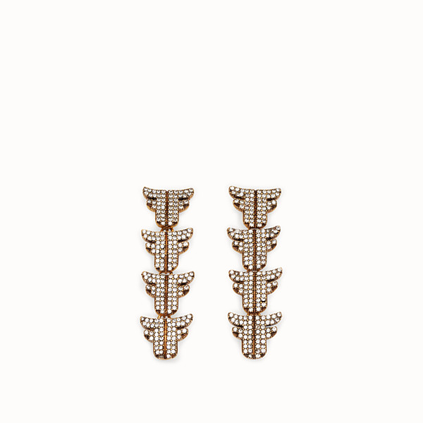 FENDI FFREEDOM EARRINGS - Gold-color earrings - view 1 small thumbnail