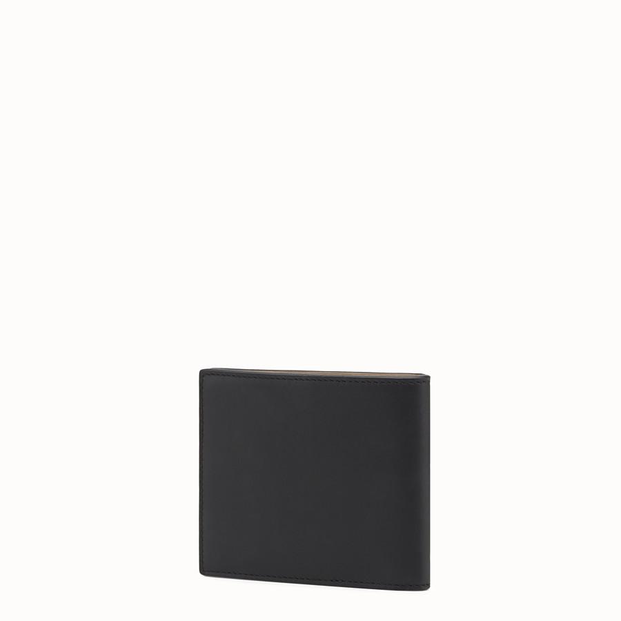FENDI WALLET - ブラックレザー 二つ折り財布 - view 2 detail