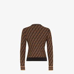 FENDI SWEATER - FF motif sweater - view 2 thumbnail