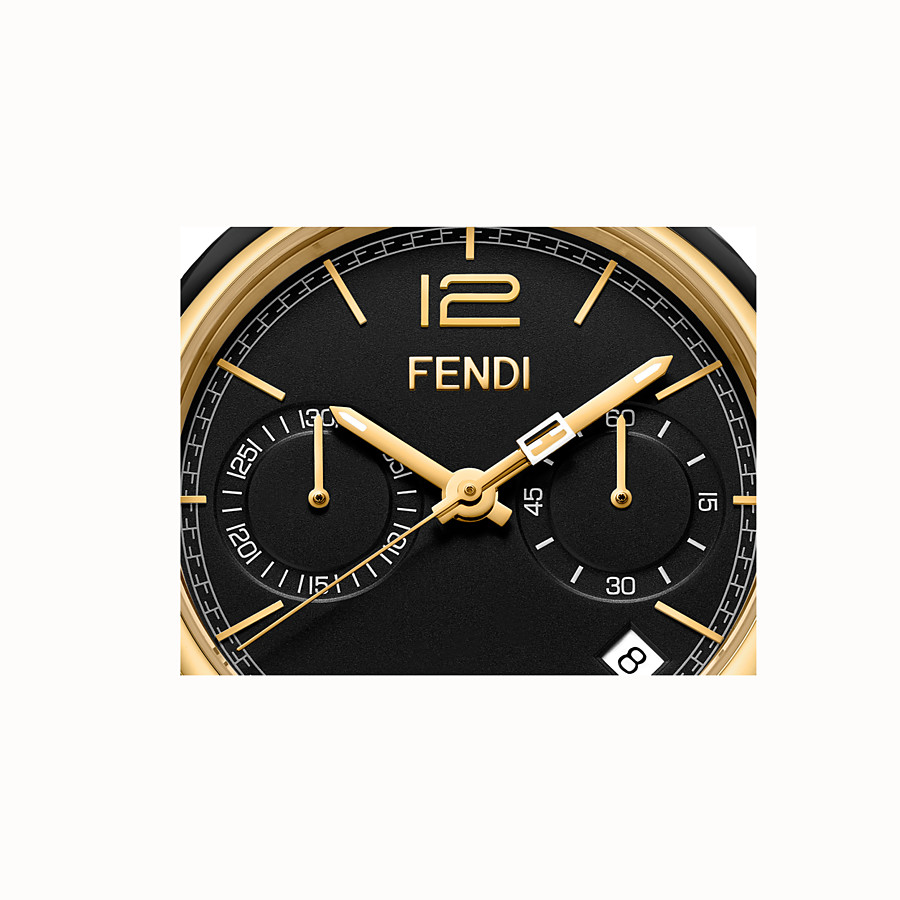 FENDI MOMENTO FENDI - 40 mm - Chronograph watch with bracelet - view 3 detail