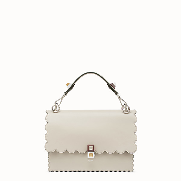 FENDI KAN I - White leather bag - view 1 small thumbnail