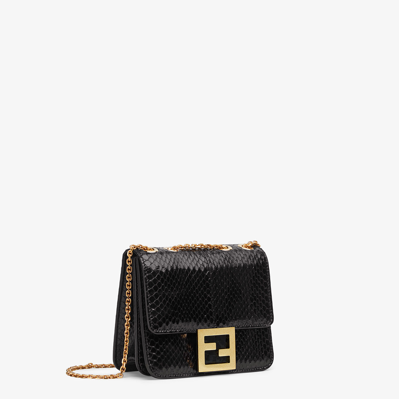 FENDI FENDI FAB - Black elaphe bag - view 2 detail