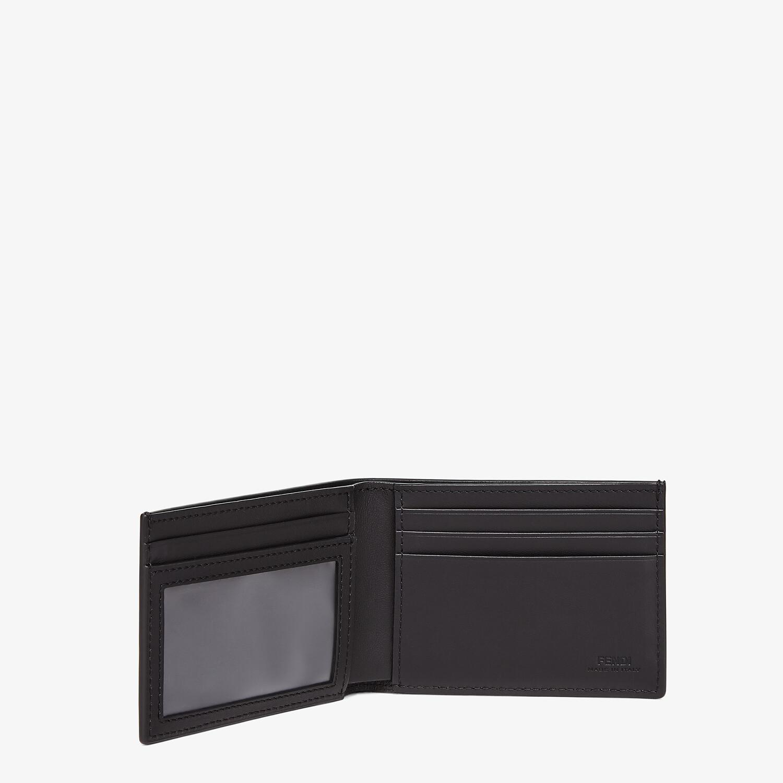 FENDI US DOLLAR WALLET - Black leather bi-fold wallet - view 3 detail