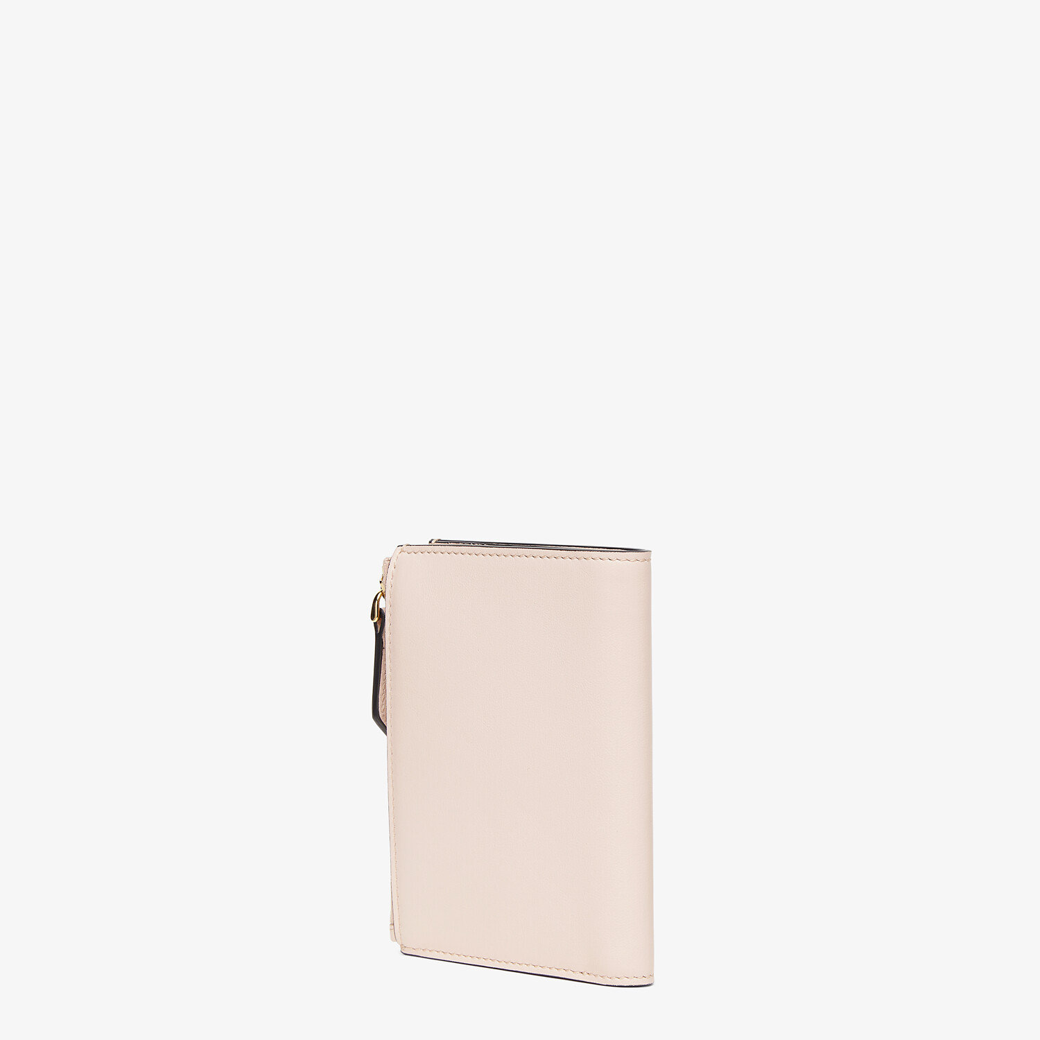 FENDI MEDIUM WALLET - Pink leather wallet - view 2 detail