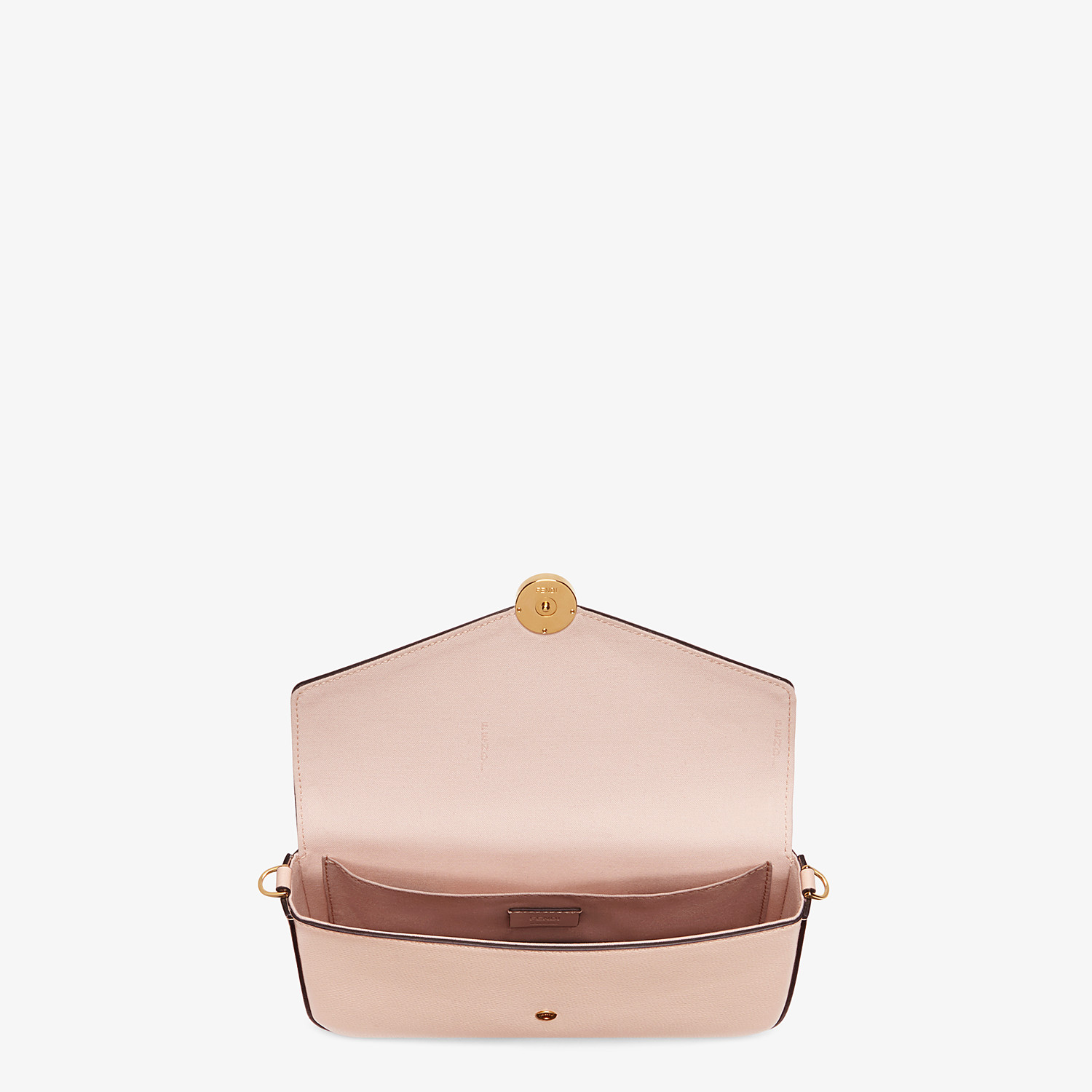 FENDI WALLET ON CHAIN MIT POUCHES - Mini-Tasche aus Leder in Rosa - view 5 detail