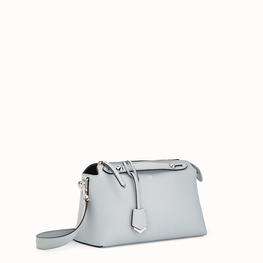 FENDI BY THE WAY REGULAR - Sac Boston en cuir gris - view 2 detail