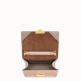 FENDI KAN U SMALL - Mini-Tasche aus Leder in Rosa - view 5 thumbnail