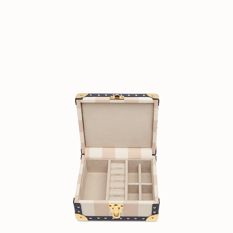 FENDI TRAVEL CASE SMALL - Travel case in jacquard multicolor - vista 2 dettaglio