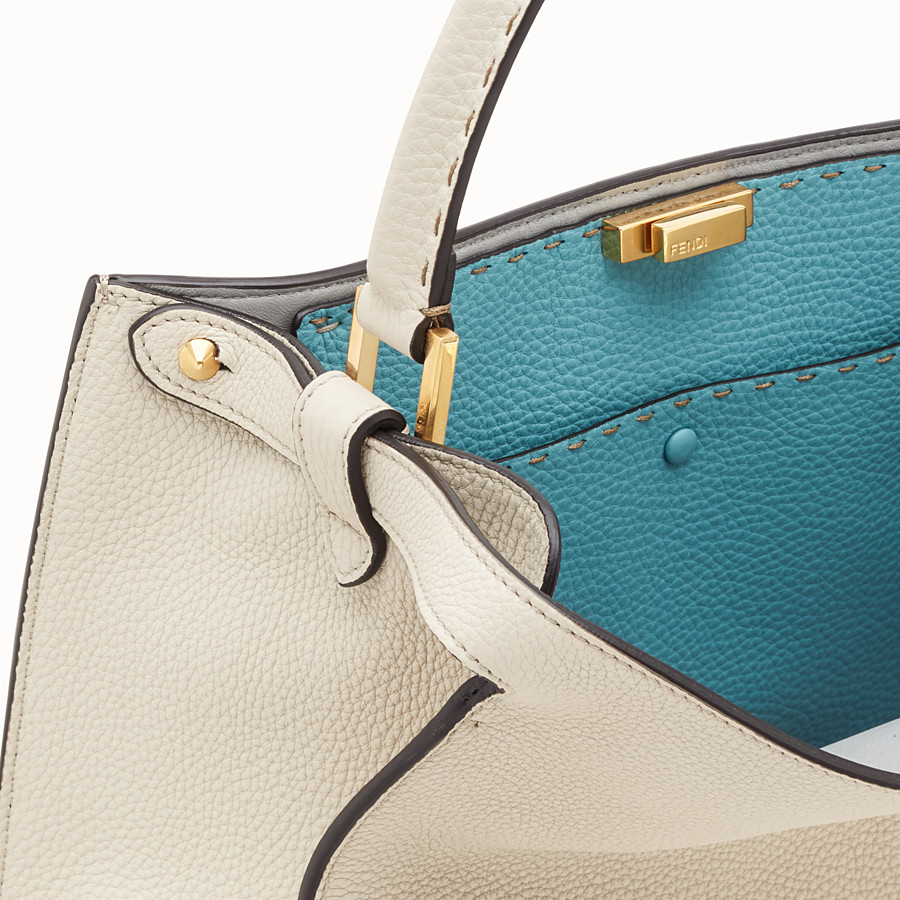 FENDI PEEKABOO X-LITE - Fendi Roma Amor leather bag - view 7 detail