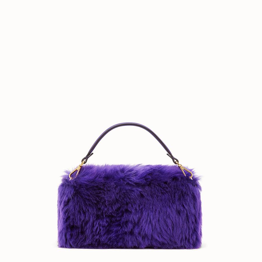a85591264d3 Purple sheepskin bag - BAGUETTE   Fendi