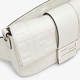 FENDI BAGUETTE - White nappa leather bag - view 6 thumbnail