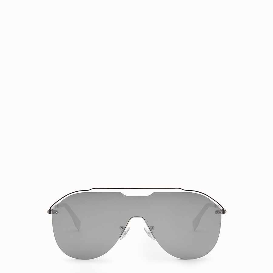 FENDI FENDI FANCY - Dark ruthenium sunglasses - view 1 detail