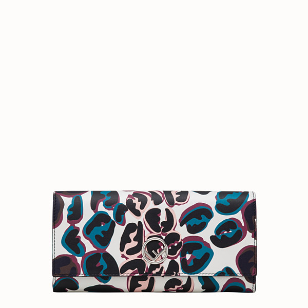 FENDI CONTINENTAL - Multicolor leather wallet - view 1 small thumbnail