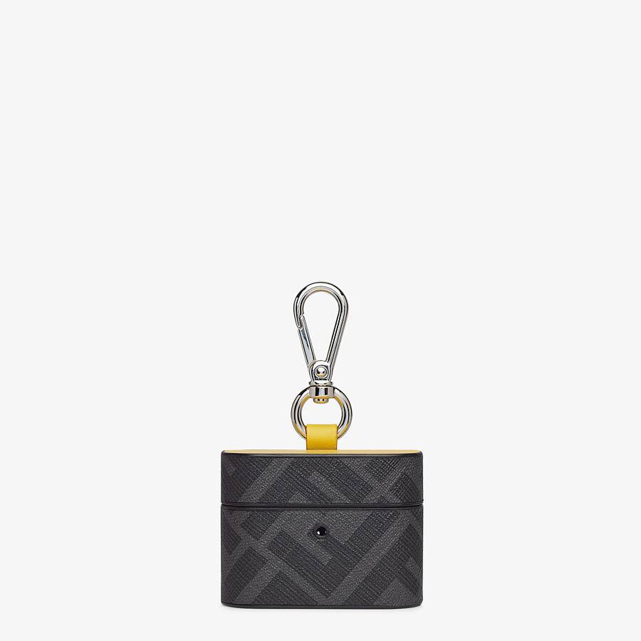 FENDI HEADPHONE HOLDER - Black fabric case - view 1 detail